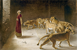 Даниил-и-львы