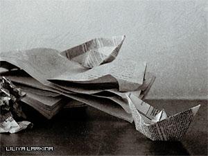Кораблик-из-газеты
