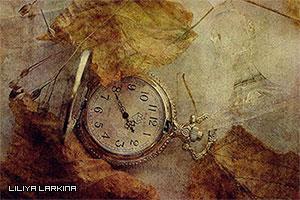 Листья-и-часы